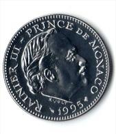 ** 5 FRANCS MONACO 1995 BU ** - 1960-2001 Nouveaux Francs