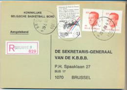 4Za991: BRUGGE 8: Aangetekend : N° 2136 X2... - 1981-1990 Velghe