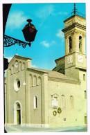 K514 Mercatello Sul Metauro (Pesaro Urbino) - La Colleggiata - Facciata Romanica Con Campanile / Viaggiata 1980 - Altre Città