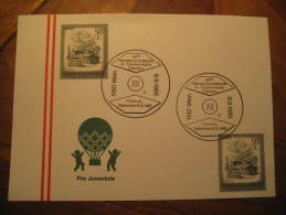 Wien 1985 Organometalic Chemistry Austria Cancel Card Chemical Chemistry Chemist Science - Chemistry