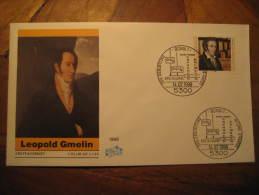 Bonn 1988 Leopold Gmelin System Germany Cancel Cover Chemical Chemistry Chemist Science - Chemistry