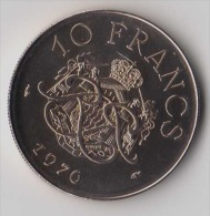 ** 10 FRANCS MONACO 1976 FDC ** - Monaco