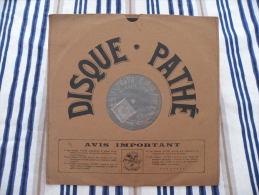 Disque Pathé Saphir 90 à 100 Tour,29cm - 1524 & 1570, Le 113 éme De Ligne, Plus D'patrons - 78 Rpm - Gramophone Records