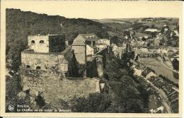 BELGIO  LUXEMBOURG  BOUILLON  Le Chateau Vu Du Rocher Besmont - Bouillon