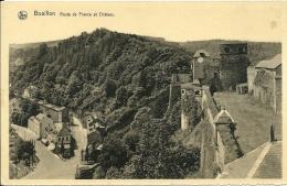 BELGIO  LUXEMBOURG  BOUILLON  Route De France Et Chateau - Bouillon