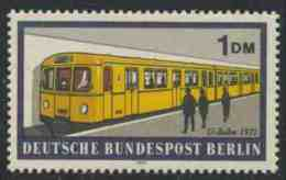 Germany Berlin 1971 Mi 384 YT 365 Sc 9N310 ** Underground Train No. 2431 (1971) / U-Bahn / Metro – Berlin Rail Transport - Treinen