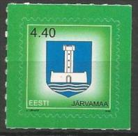 EE 2008-603 DEFINITIVE COAT OF ARMS , ESTONIA, 1v, MNH - Briefmarken