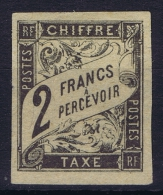 Colonies Francais Gen. Timbre Tax Nr 13 Not Used (*) Sg - Segnatasse