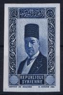 Syrie: 1944 Yv 236, Maury 241a, Sans Valeur Dans Le Cartouche, Non Dent.   Signed  MNH/** - Syrie (1919-1945)