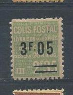 FRANCE Colis Postaux N° 125 * T.B. - Neufs