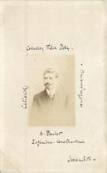 COLLECTION FELIX POTIN SERIE INEDITE CELEBRITES  A. POULET INGENIEUR CONSTRUCTEUR - Cartes Postales