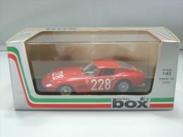 MODEL BOX 8430 1966 FERRARI 275 GTB TARGA FLORIO # 228 NUOVO IN BOX - Automobili