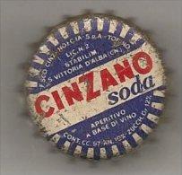 Tappo a corona Cinzano Soda - Santa Vittoria d�Alba (Cuneo)