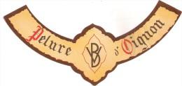 étiquette De Vin De Table : Pelure D'oignon. 1950-1960 - Labels