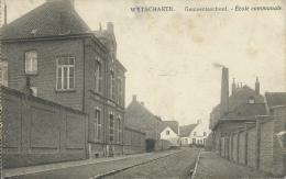 Wytschaete - Gemeenteschool - Feldpost 1915( Verso Zien ) - Heuvelland