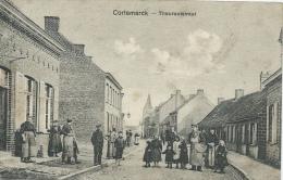 Kortemark - Thoroutstraat - Geanimmerd +++ - Feldpost 1917 ( Verso Zien ) - Kortemark