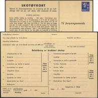 Norvège 1941. Entier Postal Pour Commande De Biens Rationnés. Chaussures : Ski, Randonnée, Bottes, Marche, Gymnastique,. - Ski