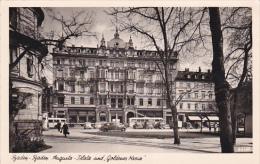 RP: BADEN-BADEN , Germany , 20-30s ; Augusta-Platz Und Goldenes Kreuz - Baden-Baden