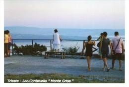 """Trieste - Loc. Contovello """" Monte Grisa """"    - FOTO  Formato Cm 10,4 X  14,8 - Lieux"""