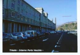 Trieste - Interno Porto Vecchio   - FOTO  Formato Cm 10,4 X  14,8 - Lieux