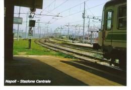 Napoli - Stazione Centrale   - FOTO  Formato Cm 10,4 X  14,8 - Lieux