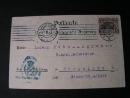 == Bayern Karte 1917 - Bavière