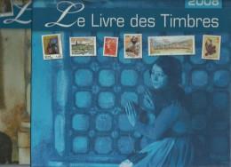 LE LIVRE DES TIMBRES 2008 - LIVRE COMPLET AVEC TOUT LES TIMBRES NEUFS ET ETUI - A SAISIR