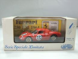 X LA MINI MINIERA 8904 FERRARI 250 LM 1965 TARGA FLORIO # 132 NUOVO IN BOX SERIE SPECIALE LIMITATA - Non Classificati