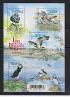 YT N°  4656 à 4659  - Neuf ** -  Feuillet Protection Des Oiseaux - Unused Stamps