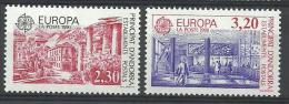THEMA EUROPA FRANS ANDORRA 388/389  Xx ( YVERT ) COTE : 16 EURO  (A) - Europa-CEPT