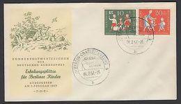 Bund FDC Ersttagsbrief 250-251 Brief 3