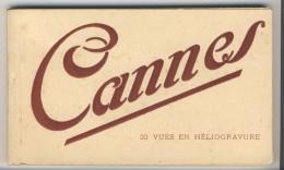 06 - Cannes          Carnet Complet De 20 Cartes - Cannes
