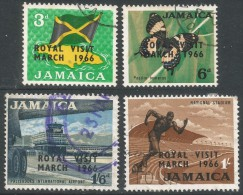 Jamaica. 1966 Royal Visit. Used Complete Set. SG 248-51 - Jamaica (1962-...)
