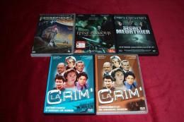 LOT DE 5 DVD ° PROMOTHEUS + LA CRIM N O 15 Et 13 + SECRET MEUTRIER + UNE EPINE D´AMOUR - DVDs