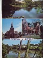 Moisdon-La-Rivière.. Belle Multi-vues.. L'Etang De La Forge.. Le Château De La Pinais.. L'Eglise - Moisdon La Riviere