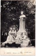 CP, 80, AMIENS, Monument Jules Vernes, Ecrite En 1929 - Amiens