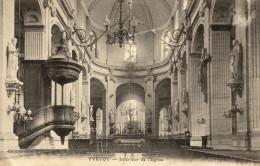 76 Yvetot. Interieur De L'eglise - Yvetot