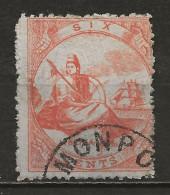 LIBERIA :  Obl., N°1, Dts 12, Rousseur/ Dt, C:175, B - Liberia