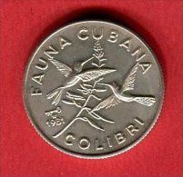 5 PESOS COLIBRI TTB/SUP 35 - Cuba