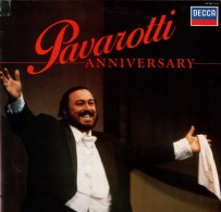 * LP *  LUCIANO PAVEROTTI - ANNIVERSARY (Holland 1986 EX!!!) - Opera / Operette