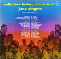 * 5LP Box *  COLLECTORS' HISTORY OF AMERICAN JAZZ SINGERS - VARIOUS ARTISTS (USA EX!!!) - Jazz