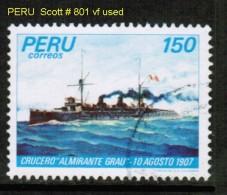 PERU    Scott  # 801 VF USED - Peru