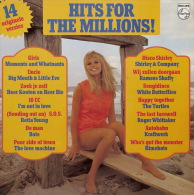 * LP *  HITS FOR THE MILLIONS  - TURTLES / KRAFTWERK / RIMSHOTS / 10CC A.o. (Holland 1974 EX-!!!) - Compilaties