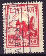 Litauen Lithuania Lituanie - Burgruine Kaunas 1933 - Gest. Used Obl. - Lituanie