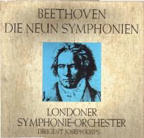 * 6LP Box *  BEETHOVEN - DIE NEUN SYMPHONIEN - LONDON SYMPHONY ORCHESTRA - KRIPS (EX!!!) - Klassiekers