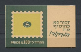 ISRAEL 1973  Carnet N° 382Ba ** Neufs = MNH Superbes Cote 3 € Armoiries Coat Of Arms Kefar Sava - Booklets