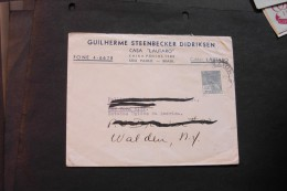 Brazil Redirected Cover To The US 1941  A04s - Brazil