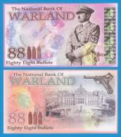 DEUTSCHLAND / GERMANY / ALEMANIA / WARLAND  88 BULLETS  SC/UNC/PLANCHA  T-DL-11.044 - [ 4] 1933-1945 : Troisième Reich