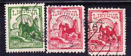 Litauen Lithuania Lituanie -  Burgruine Kaunas 1925 - Gest. Used Obl. - Lithuania