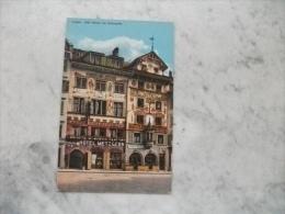 HOTEL METZGERN  LUZERN ALTE HAUSER AM WEINMARKT PICCOLO FORMATO